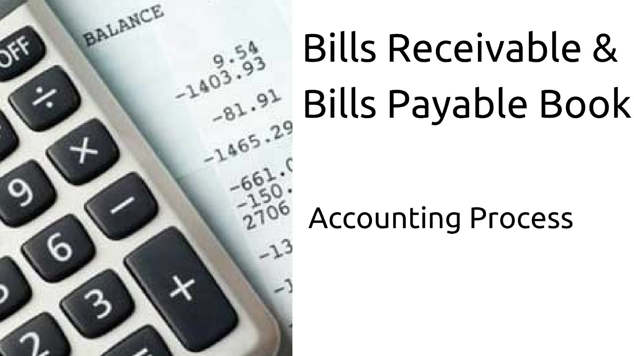 What Is Bills Receivable U0026 BP Book|Journal | Subsidiary Books | CA CPT | CS  U0026 CMA | Class 11  Bill Receivables