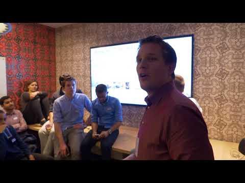 Parkmobile.com holding a presentation at Amsterdam Tech Job Fair - 29th November 2017