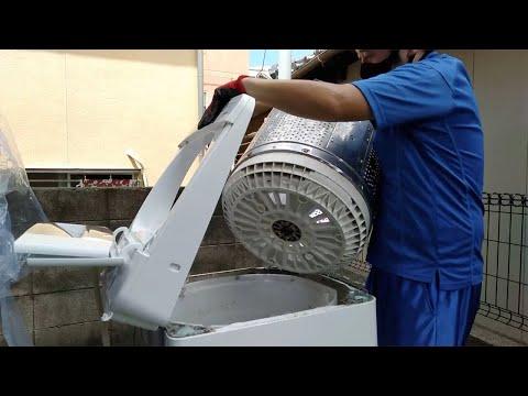 日立ビートウォッシュ洗濯機分解 [BW 9TV]