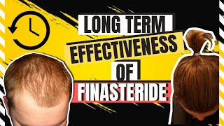 LONG TERM EFFECTIVENESS OF FINASTERIDE