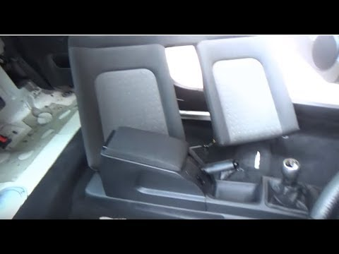 How to INSTALL the front and rear seats of the Volkswagen New Beetle cabrio