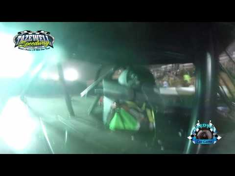 #20 Jimmy Owens - WoO Super Late Model - 6-2-17 Tazewell Speedway - In-Car Camera