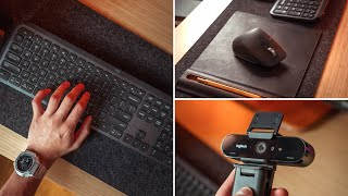 The BEST Work From Home Peripherals - MX Keys, MX Master 3 & Logitech BRIO 4K Webcam Review
