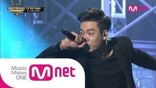 Mnet [쇼미더머니3] EP.06 : 아이언(IRON) - Blue Gangsta + I AM @ 1차 공연