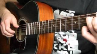 Lumen - Гореть acoustic fingerstyle guitar cover