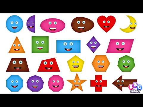 Shapes Chant  Shapes for Children  2d Shapes  Shapes Song