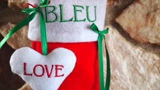 How to Sew a Dog Paw Print Christmas Stocking for Your Pet!