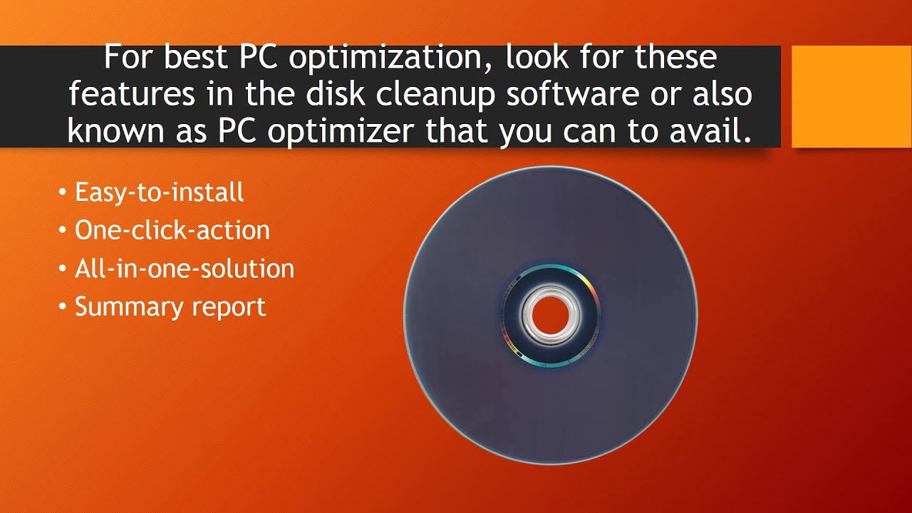 Download best disk cleanup software to make your computer run.