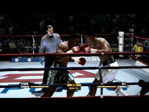 Fight Night Champion (PS3) Mike Tyson Vs Muhammad Ali 1080p