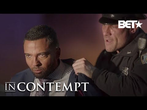 Christian Keyes as Charlie Gets Arrested For Terrible Crime…Being Black  In Contempt