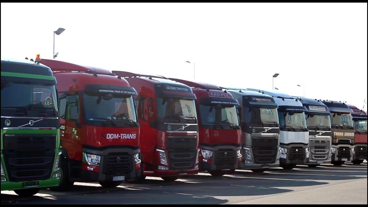 Serwis Renault Trucks i Volvo Trucks w Olchowej - YouTube