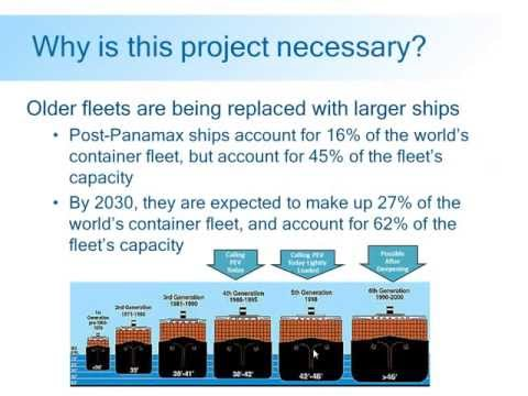 Port Eveglades harbor improvement webinar