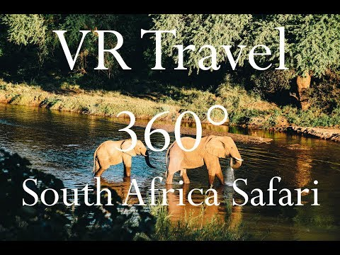 VR Travel - South Africa Luxury Safari