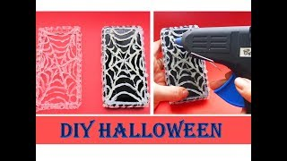 DIY HALLOWEEN HANDYHÜLLE EINFACH SELBER MACHEN; HALLOWEEN PHONE CASES QUICK AND EASY