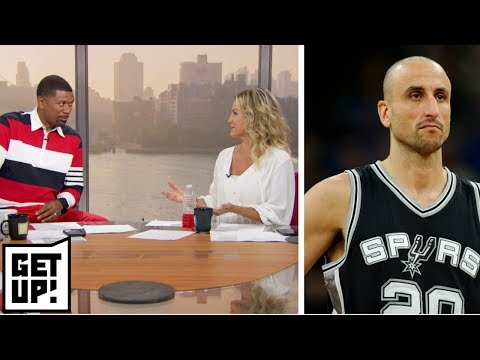 Jalen Rose, Michelle Beadle give their favorite Manu Ginobili moments | Get Up! | ESPN