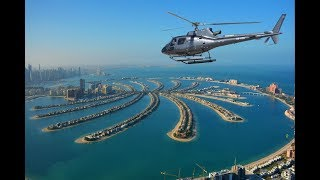 Helicopter Flight Over Dubai