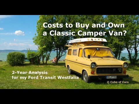 6af7fd555361bf How much does it costs to travel with a Classic RV Camper Van  1978 Ford  Transit Mk1 Westfalia