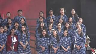 School Choir at 64th Annual Award Giving Ceremony, Springdales School Pusa Road