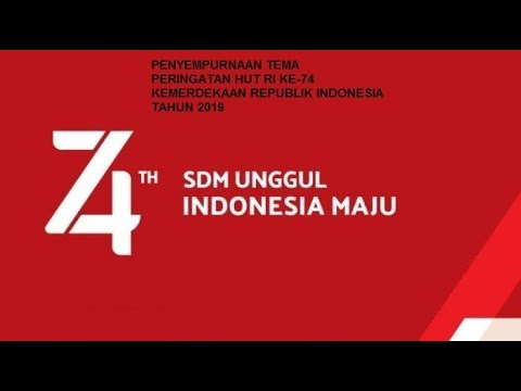 Hut Ri Ke 74 Tahun 2019 Dari Gambar Logo Tema Promo Lomba Proposal Surat Edaran Hingga Tutorial 17 Agustus 2019 Format Administrasi Desa