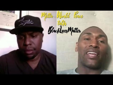 NBA's Metta World Peace talks BlackLivesMatter and athletes speaking out