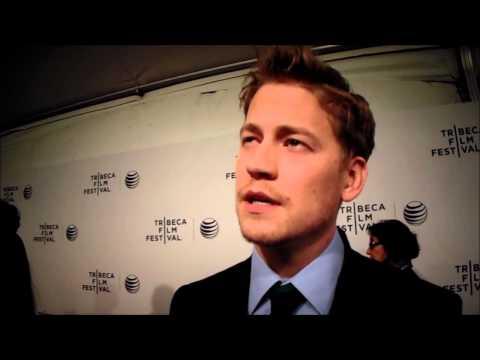 Gavin Stenhouse at the 2014 Tribeca Film Festival