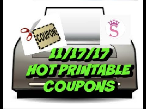 graphic relating to Hefty Printable Coupons named 11/17/17 Scorching PRINTABLE Coupon codes Pleased, Major Even more!