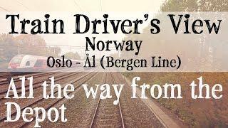 Train  Driver's View: Oslo to Ål thumbnail