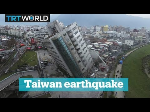 Earthquake rocks Taiwan