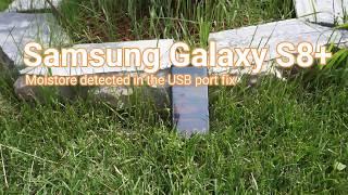 Samsung Galaxy S8 & S8+ moisture error