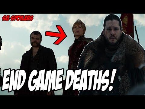 Who Will DIE! Game Of Thrones Season 8 (Spoilers)