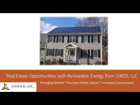 Real Estate Opportunities with Renewable Energy from CHESS, LLC