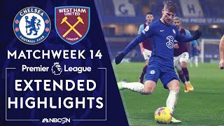 Tammy abraham's late brace allowed chelsea to pull away as they snapped a two-game losing run with 3-0 victory over london rivals west ham.#nbcsports #prem...