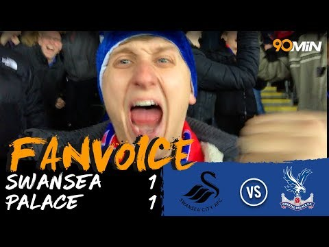 Swansea 1-1 Crystal Palace | Milivojevic and Ayew goals mean Swansea draw 1-1 vs Palace! | FanVoice