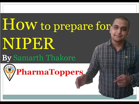 How to prepare for NIPER