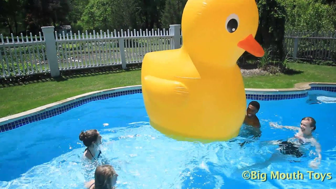 BigMouth Inflatable Pool Float Giant Rubber Ducky