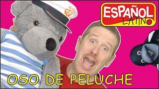 Canción de la fiesta del Té de el Bebé oso, para niños con Steve and Maggie Español Latino