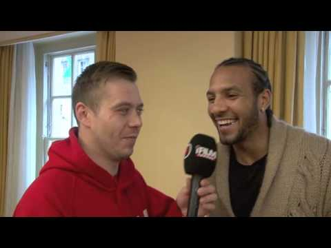 WADI CAMACHO INTERVIEW FOR iFILM LONDON / CHRISTMAS CRACKER PRESS CONFERENCE