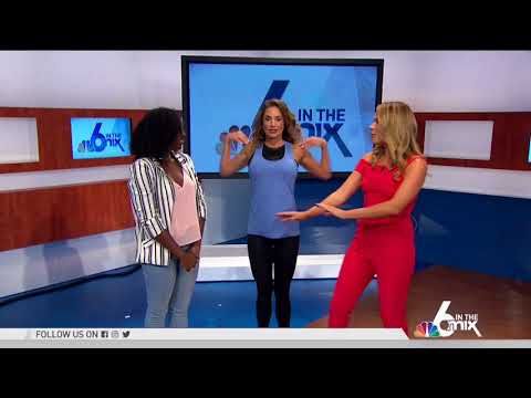 LIVE TV NBC, Wellness Expert & Author Jennifer Nicole Lee Gives Fitness Tips
