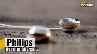 Philips Hyprlite SHE4205 — обзор стильных и недорогих вкладышей