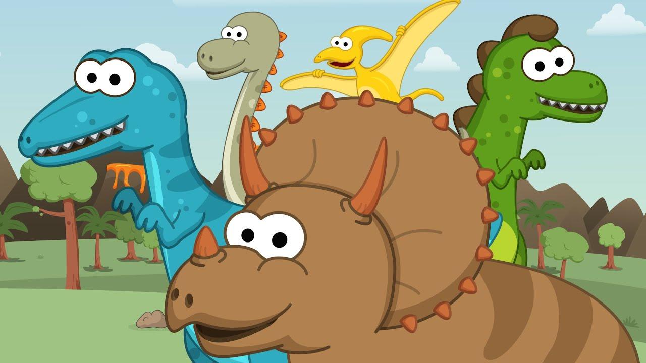 Los Dinosaurios Toobys Canciones Infantiles Videos Para Niños Youtube