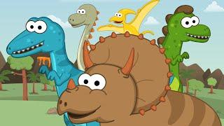 Los Dinosaurios - Toobys - Canciones Infantiles - Videos para niños