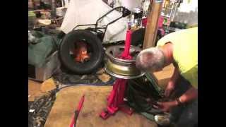 mounting 245 75 16 lt tire w hf tool