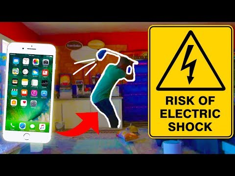 GROCERY STORE ELECTRIC BAIT PHONE PRANK!!