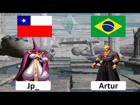 Svc Chaos Snk Vs Capcom Plus Jp  chile VS Artur brazil Fightcade