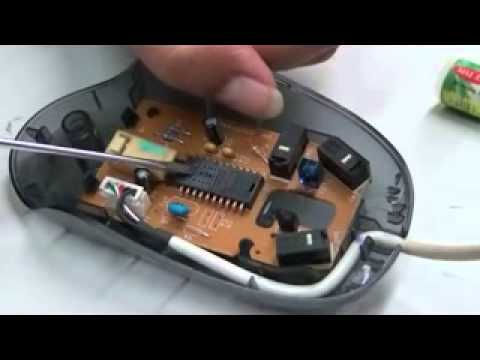 Working of an optical mouse - Hindi