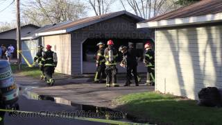 5/14/2013 Saint Cloud, MN Fatal Garage Fire / Crime Scene