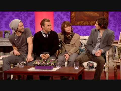 Take That - Paul OGrady - Interview 1
