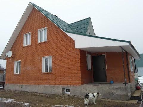 Утепление брусового дома облицованного кирпичем