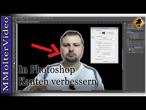 In Photoshop Kanten Verbessern Tutorial Von MMolterVideo