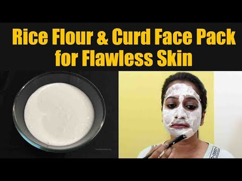 rice-flour-and-curd-face-pack:-diy-|-face-pack-to-remove-tan-&-get-brightening-skin-|-boldsky